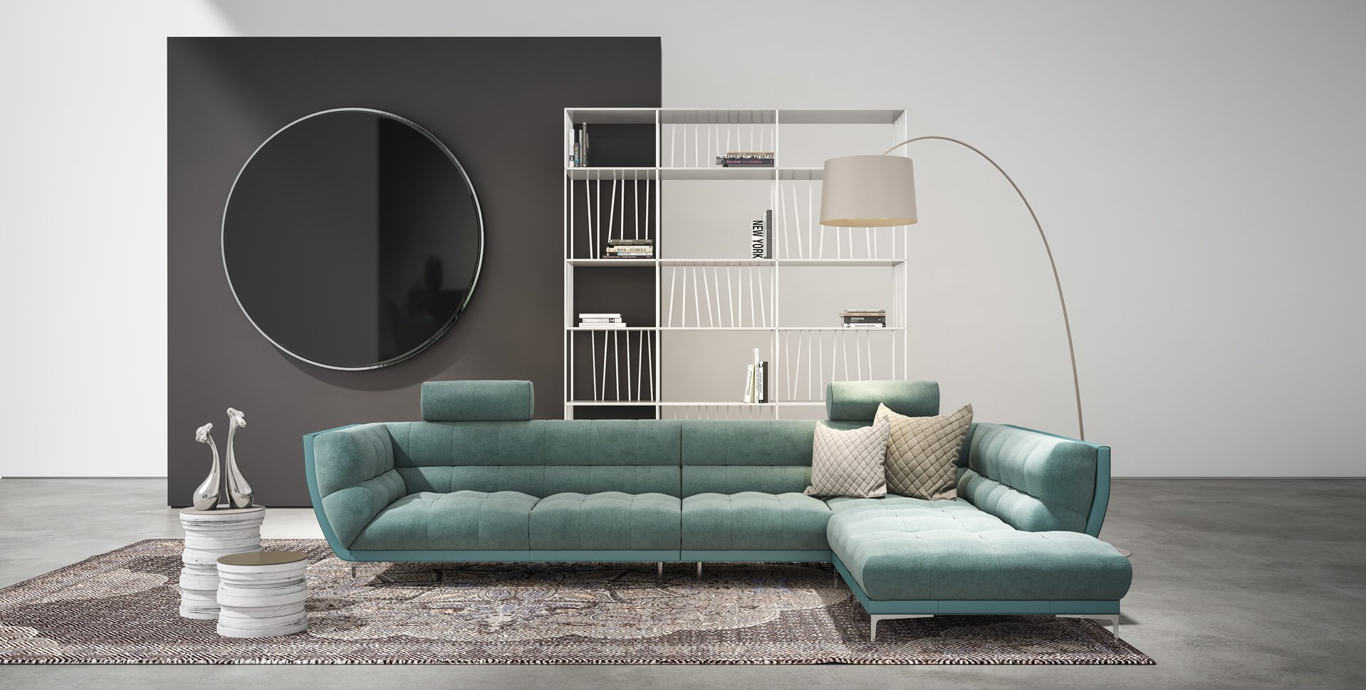 Product Visualization: Living room sofa, by Rossetto Furniture