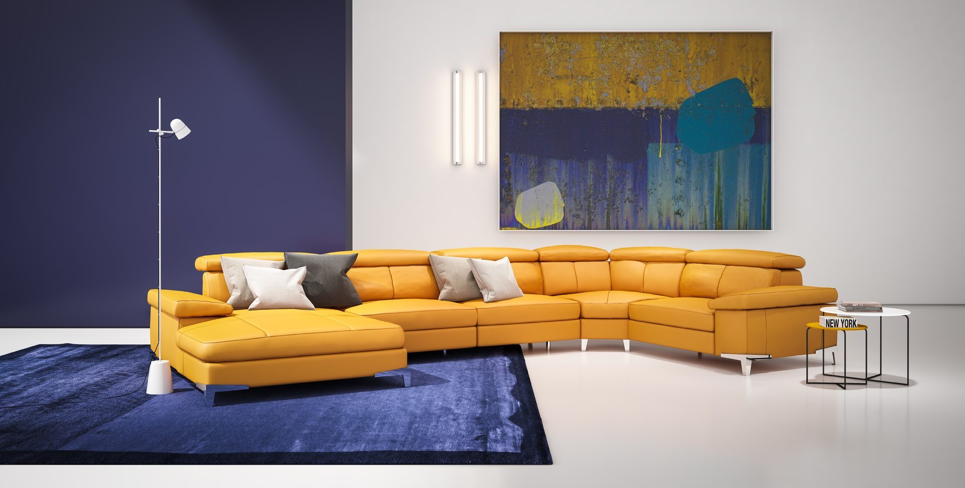 Product Visualization: Living room sofa by Rossetto Furniture