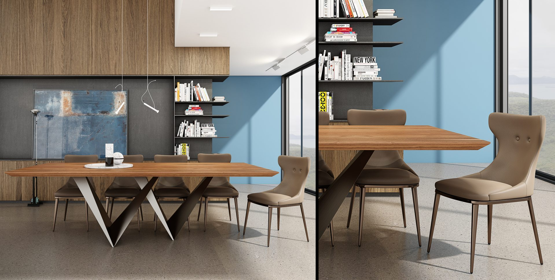 Product Visualization: Dining room by Rossetto Furniture