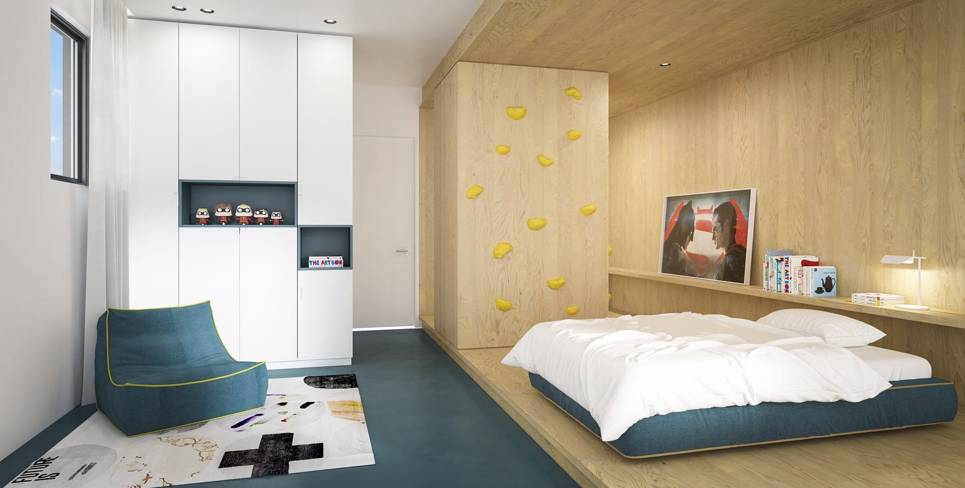 Maayan-Golan_Architectural-Visualization_ duplex-interior-visualization_kids-bedroom_design-hazak-studio_01