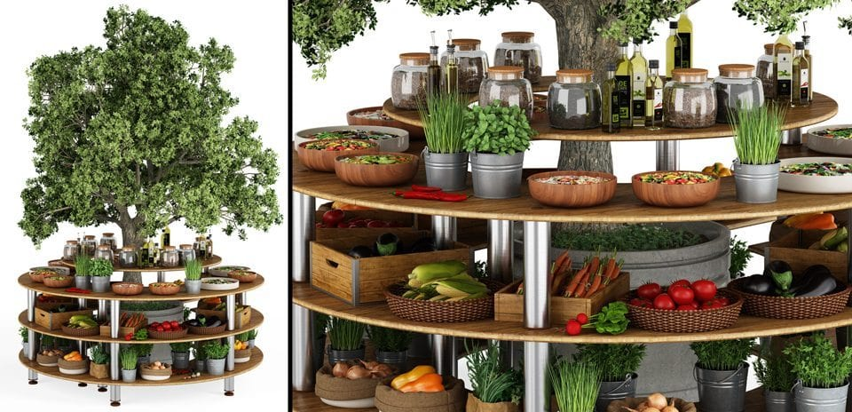 Maayan-Golan_Architectural-Visualization_product-visualization_Professional-Buffet-Solutions_food-stand_Mogogo_01