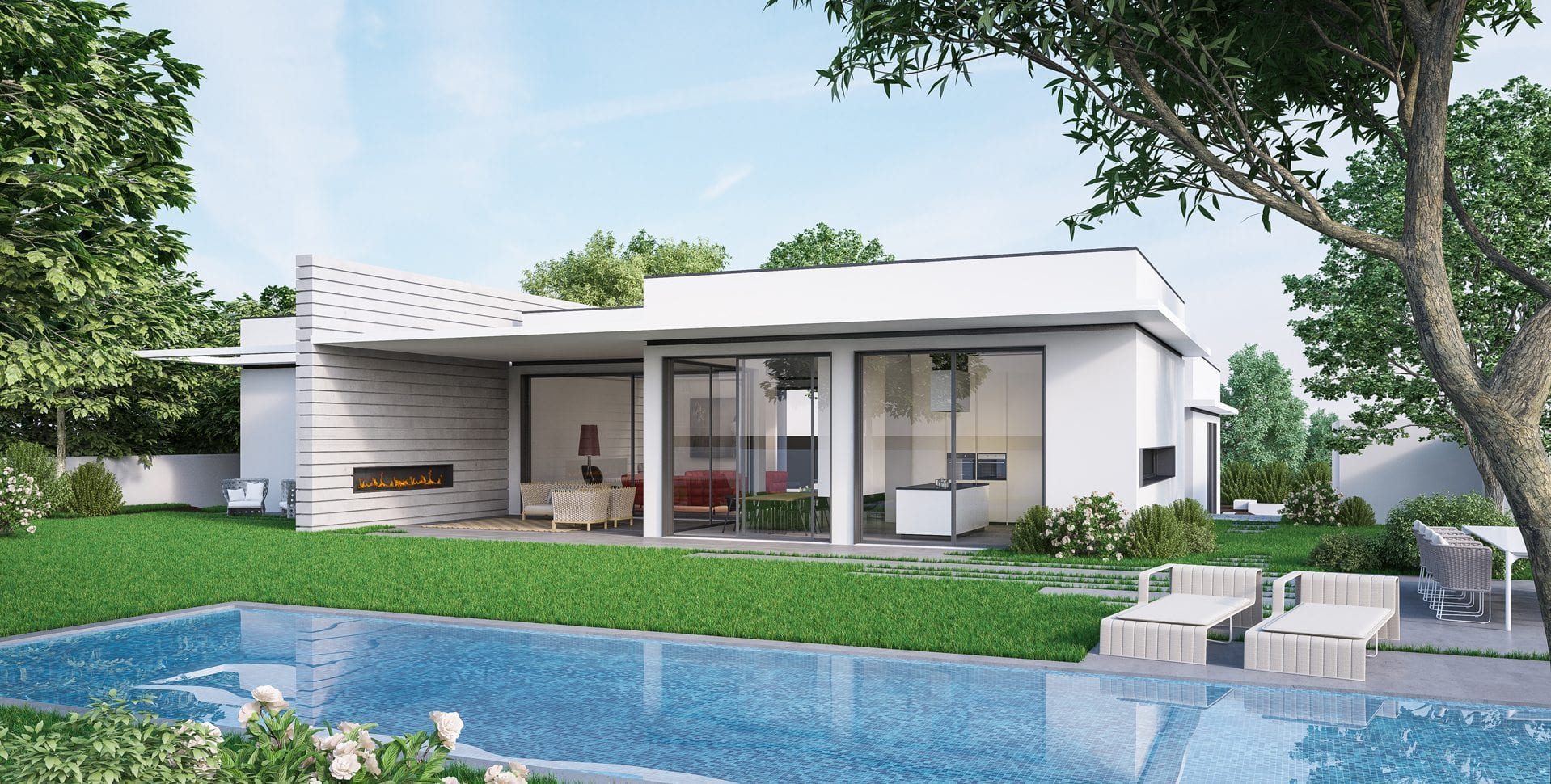 Maayan-Golan_Architectural-Visualization_exterior-visualization_private-residence_horizontal-lines-project_back-elevation-pool_architect-yulie-wollman_03