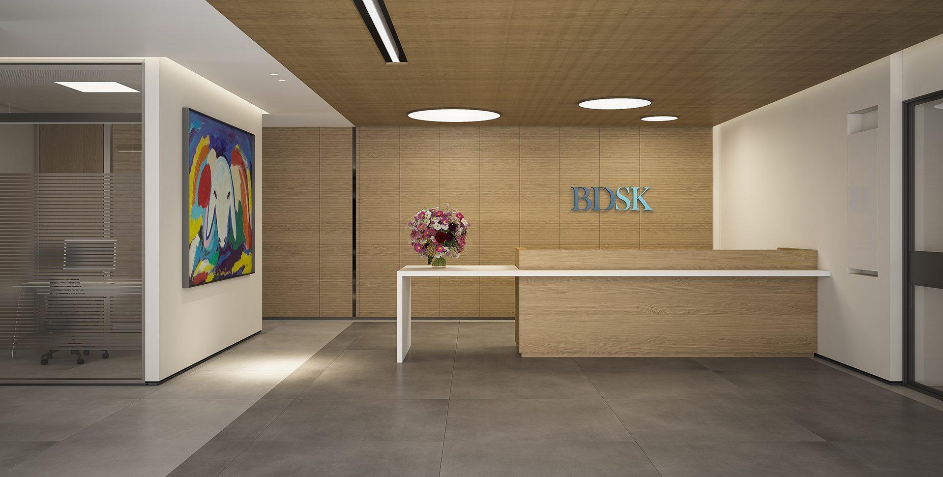 Architectural Visualization: BDSK Entrance by Dunsky Architects