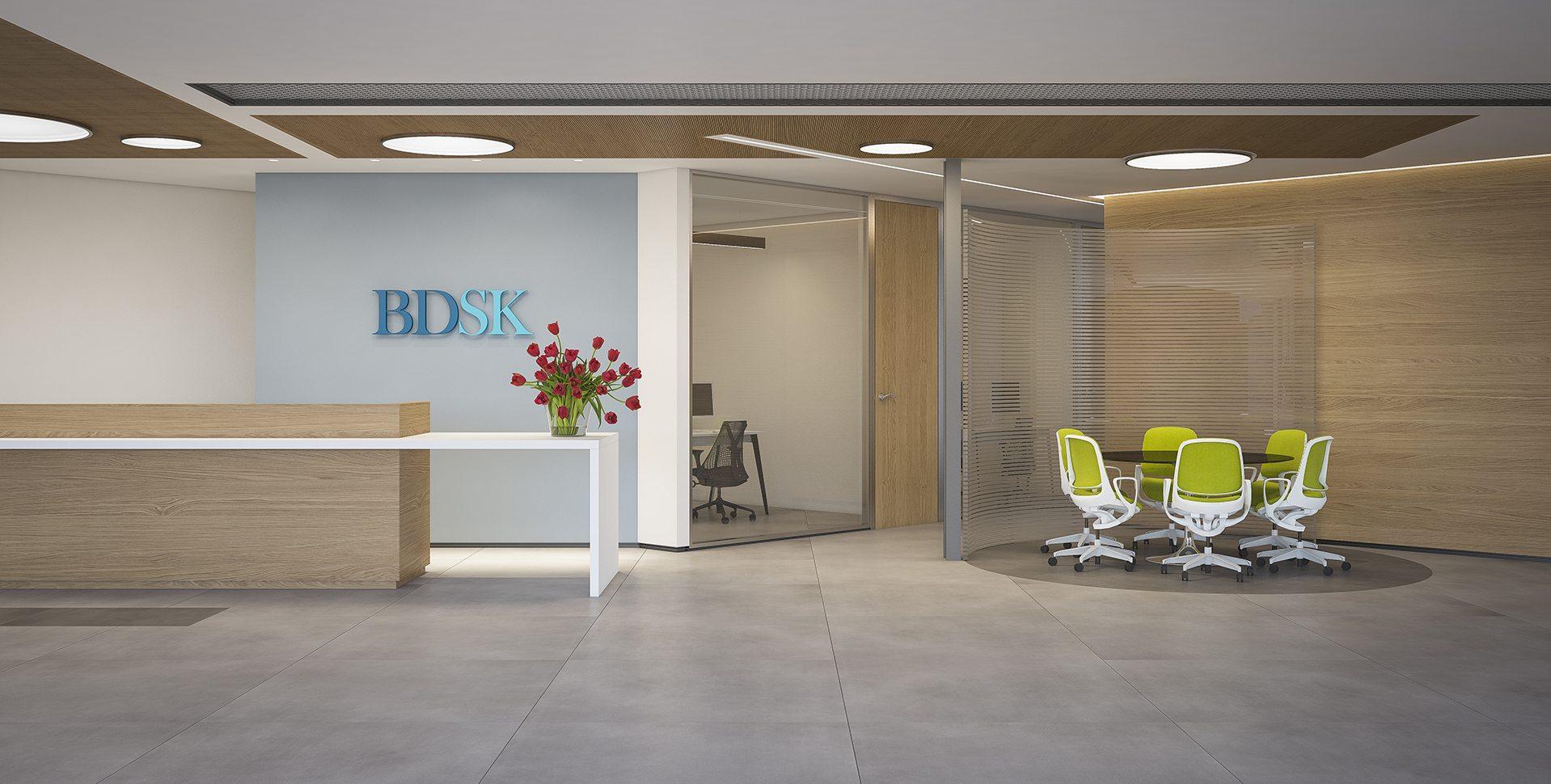 Architectural Visualization: BDSK Reception by Dunsky Architects