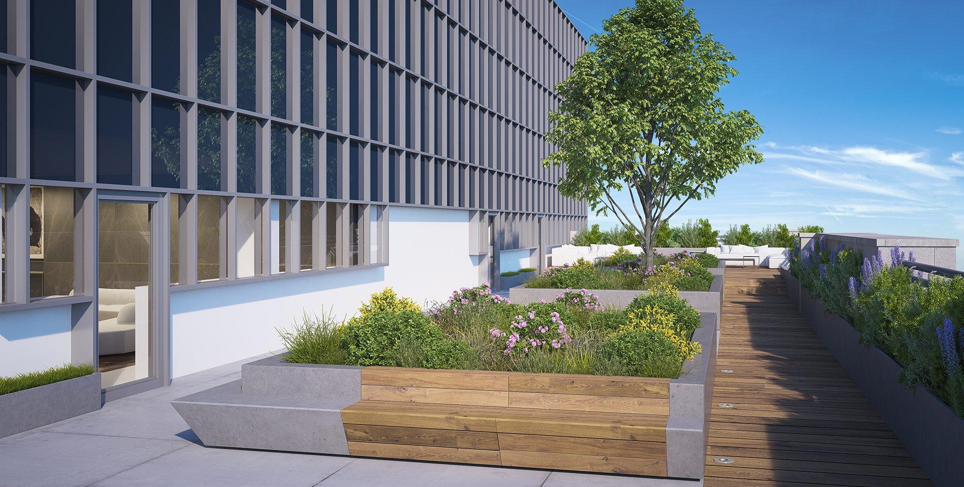 Architectural Visualization: Exterior Balcony