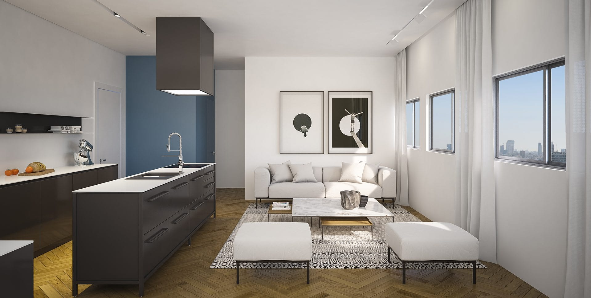 Maayan-Golan_Architectural-Visualization_ apartment-kitchen-living-room_interior-visualization_ Dizengoff-189-tel-aviv_05
