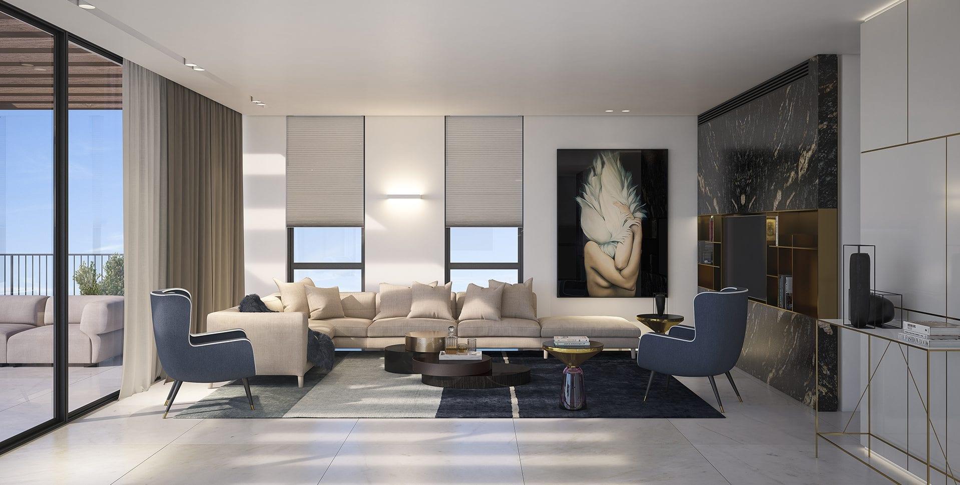 Maayan-Golan_Architectural-Visualization_ apartment-yehuda-halevi-tel-aviv_interior-visualization_living-room_design-ws-studio_02