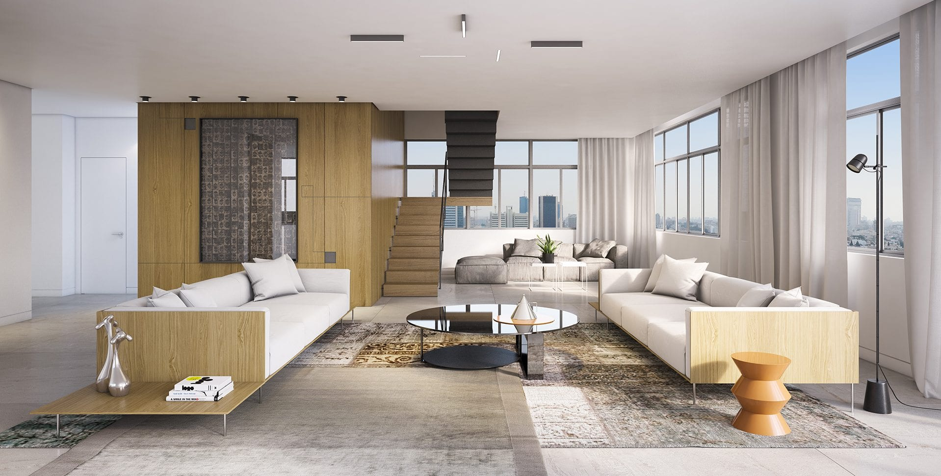 Maayan-Golan_Architectural-Visualization_ penthouse-living-room_interior-visualization_ Dizengoff-189-tel-aviv_03