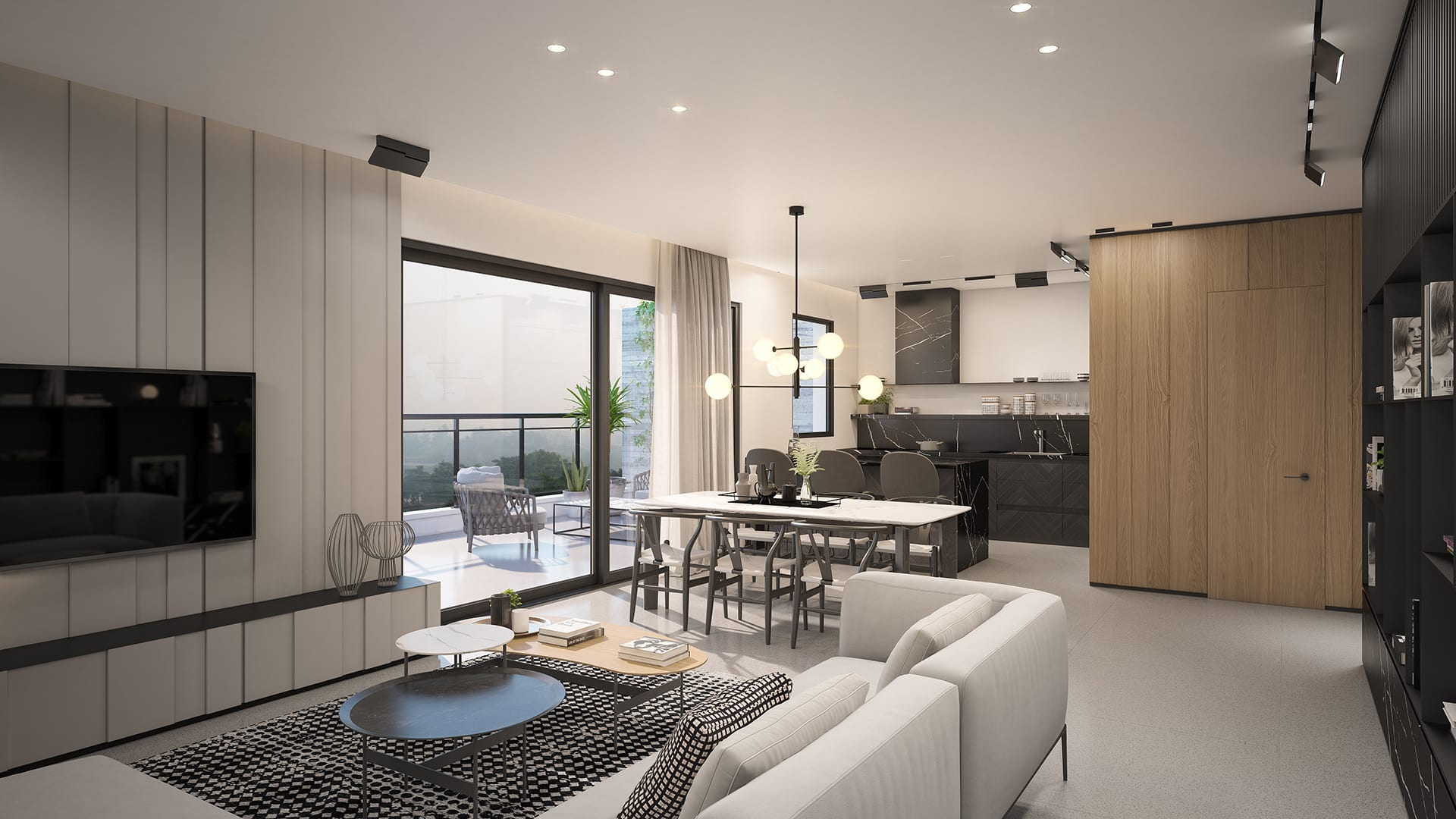 Maayan-Golan_Architectural-Visualization_apartment_kitchen-living-room-visualization_interior-design-sharon-maayan_01