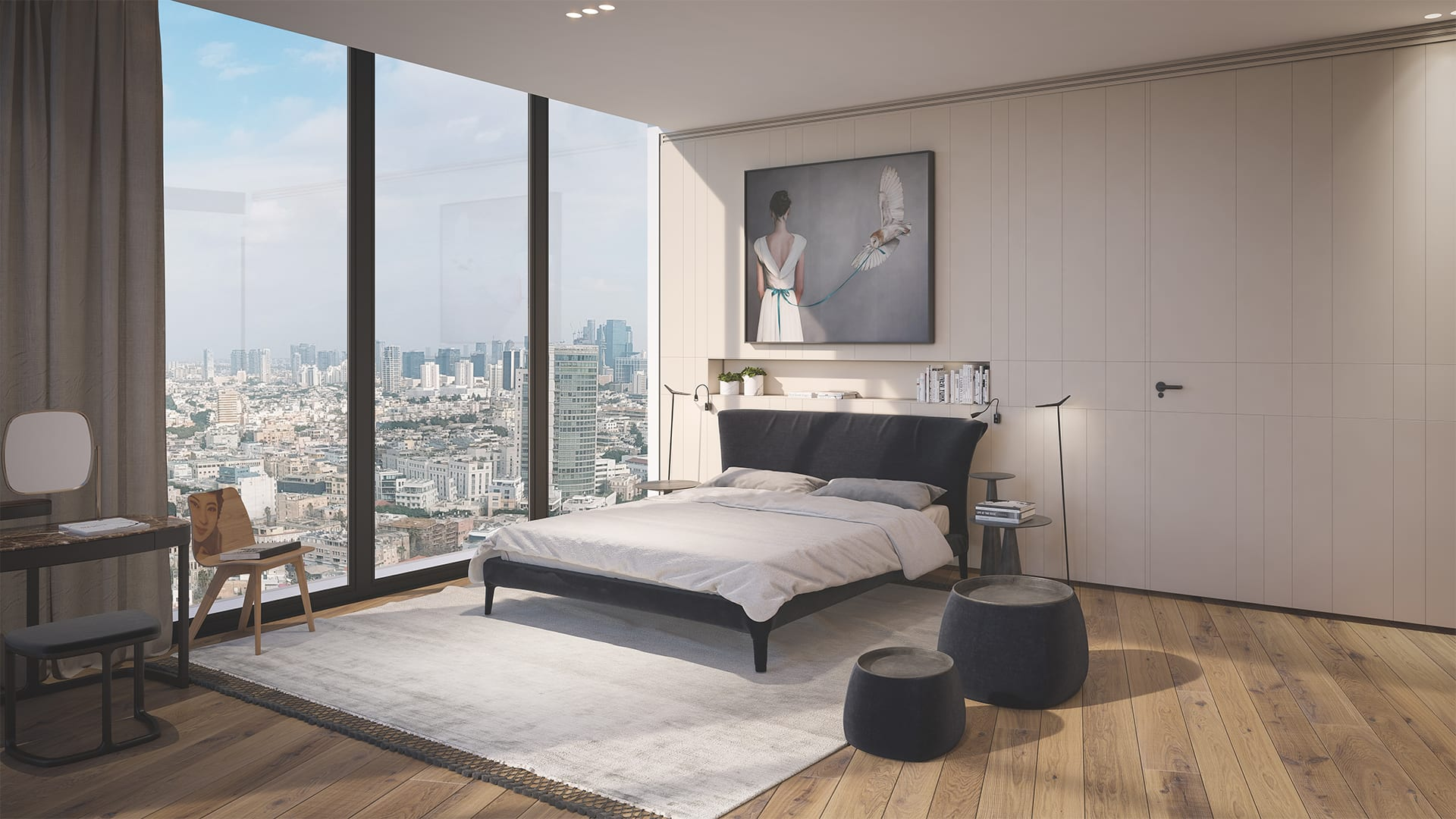 Maayan-Golan_Architectural-Visualization_interior-design-visualization_ white-city-penthouse_design-tal-tamir_bedroom_01