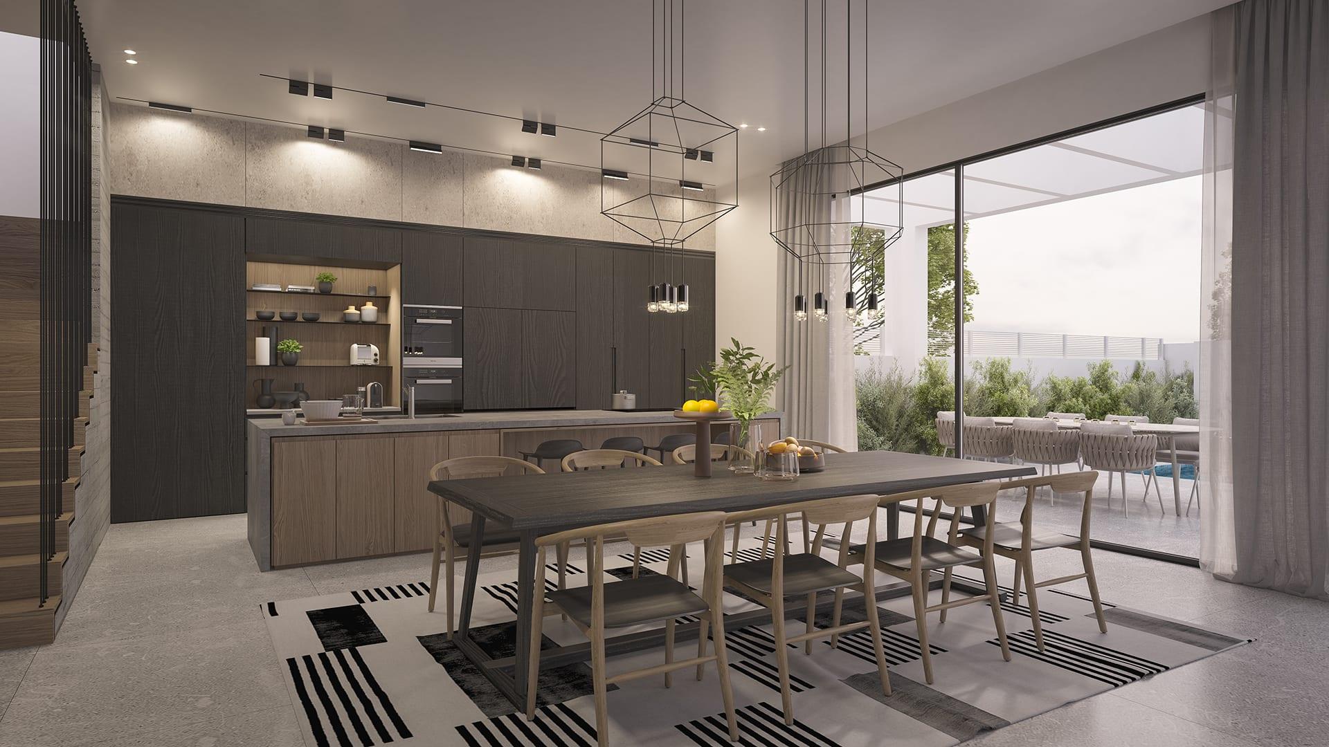 Maayan-Golan_Architectural-Visualization_interior-visualization_private-house_kitchen-dining-room_interior-design-by-sharon-maayan_01