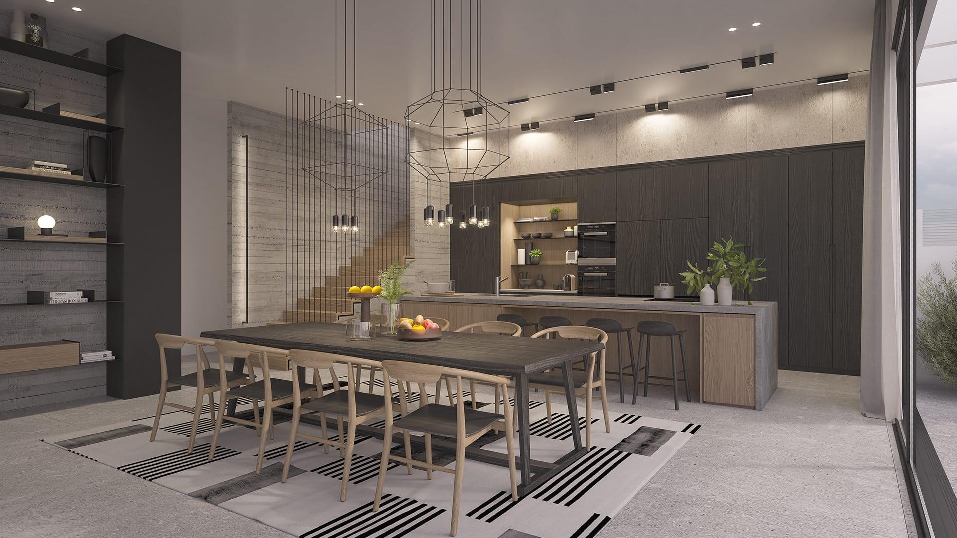 Maayan-Golan_Architectural-Visualization_interior-visualization_private-house_kitchen-dining-room_interior-design-by-sharon-maayan_02