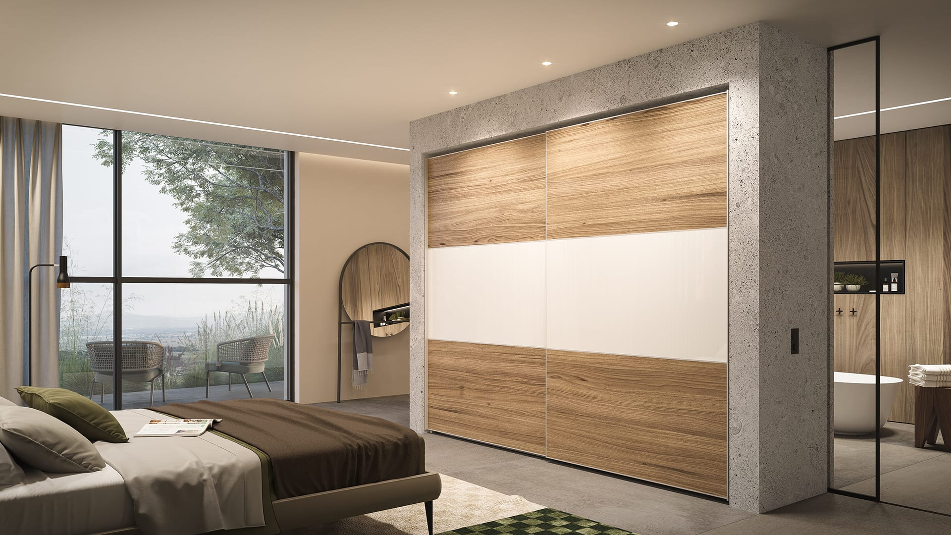 Maayan-Golan_Architectural-Visualization_product-visualization_AGAM-cloests_sliding-door-tv-wood-closet_06