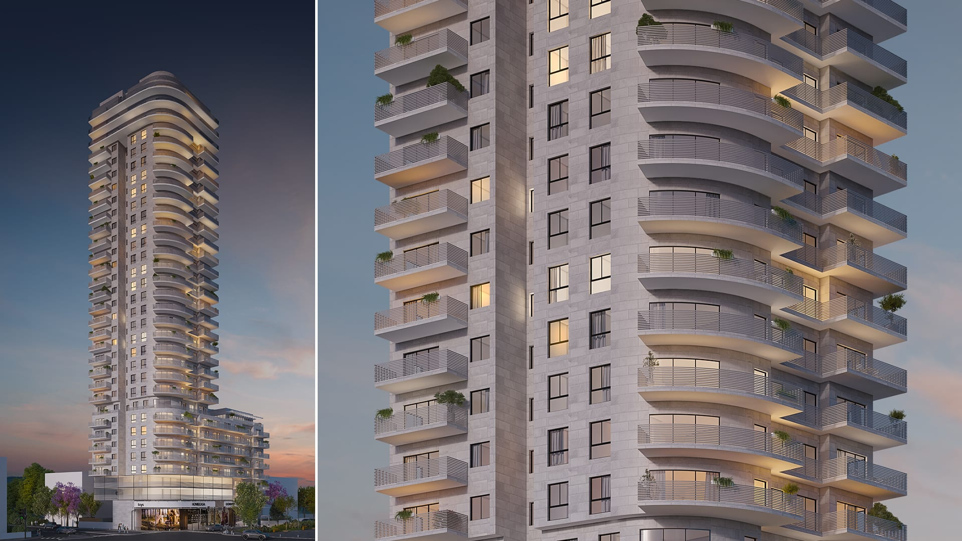 Maayan-Golan_Architectural-Visualization_exterior-visualization_ Residential-Building_haatzmaut-project-bat-yam _itay-towers-group_02